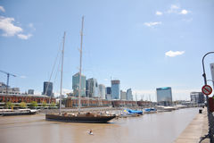 Puerto Madero. Cityscape in Buenos Aires, Argentina Stock Image