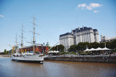 Puerto Madero. Cityscape in Buenos Aires, Argentina Royalty Free Stock Photos