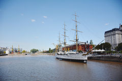 Puerto Madero. Cityscape in Buenos Aires, Argentina Royalty Free Stock Photo