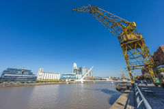Puerto Madero district in Buenos Aires, Argentina. Stock Image