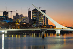 Puerto Madero (habor) modern part of Buenos Aires Argentina Royalty Free Stock Photos