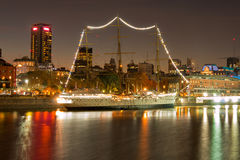 Puerto Madero (habor) modern part of Buenos Aires Argentina Royalty Free Stock Image