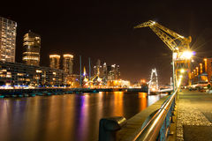 Puerto Madero (habor) modern part of Buenos Aires Argentina Royalty Free Stock Photography