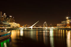 Puerto Madero (habor) modern part of Buenos Aires Argentina Royalty Free Stock Images