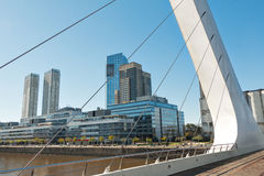 Puerto Madero (habor) modern part of Buenos Aires Argentina Stock Photography