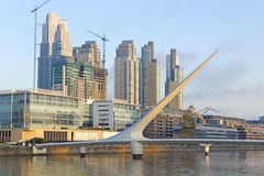 Puerto Madero neighborghood, Buenos Aires, Argentina Royalty Free Stock Photo