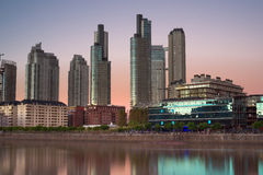 Buenos Aires Cityscape Royalty Free Stock Image