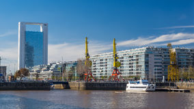 Puerto Madero Neighborhood, Buenos Aires Royalty Free Stock Photography