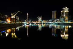 Puerto Madero at Night Royalty Free Stock Photography