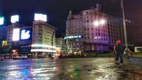 Puerto Madero no crepúsculo imagem de stock