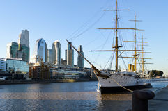 Puerto Madero, Buenos Aires, Argentina Stock Image
