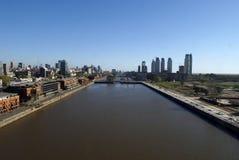 puerto madero powietrza Zdjęcia Royalty Free