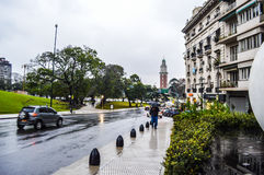 Puerto Madero przy półmrokiem Obrazy Stock