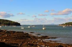 Puerto Maine de la barra Fotografía de archivo