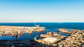 Puerto marítimo foto de archivo
