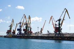 Puerto marítimo imagenes de archivo