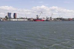 Puerto marítimo Fotografía de archivo