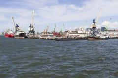 Puerto marítimo Fotografía de archivo libre de regalías
