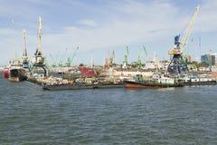 Puerto marítimo Imágenes de archivo libres de regalías