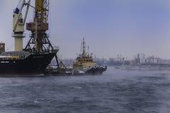 Puerto marítimo Fotos de archivo