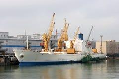 Puerto marítimo de Odessa Imagenes de archivo