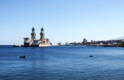Puerto marítimo de Santa Cruz de Tenerife imagenes de archivo