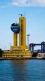 Puerto marítimo en Odessa Fotografía de archivo libre de regalías
