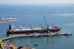 Puerto marítimo industrial fotos de archivo libres de regalías