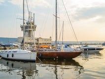 Puerto marítimo Varna, Bulgaria imagenes de archivo