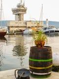 Puerto marítimo Varna, Bulgaria imagen de archivo libre de regalías