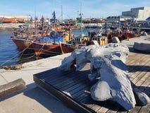 Puerto Mar del Plata стоковое фото