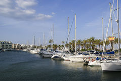 Puerto Marina Royalty Free Stock Photography