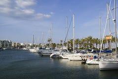 Puerto Marina. In Benalmadena, Spain Royalty Free Stock Photography