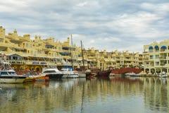 Puerto Marina, Benalmadena, Hiszpania obrazy stock