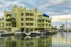 Puerto Marina, Benalmadena, Hiszpania zdjęcie royalty free