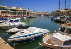 Puerto Marina in Benalmadena. Royalty Free Stock Photo