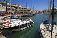 Puerto Marina in Benalmadena. Royalty Free Stock Photography