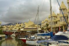 Puerto Marina, Benalmadena, Spain Royalty Free Stock Image