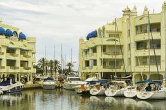 Puerto Marina, Benalmadena, Spain Stock Photo