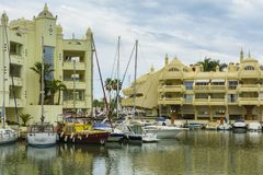 Puerto Marina, Benalmadena, Spain Stock Photography
