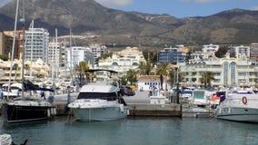 Puerto Marina, Hiszpania Fotografia Stock
