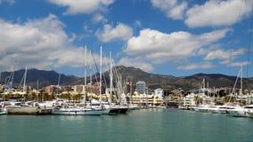 Puerto Marina, Hiszpania Obrazy Stock