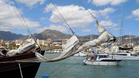 Puerto Marina, Hiszpania Zdjęcia Royalty Free