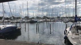 Puerto Marina Muiderzand Foto de archivo libre de regalías