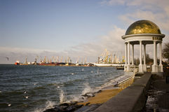 Puerto marino imagen de archivo