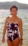 Puerto Marquez que baña belleza Fotos de archivo