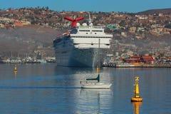 Puerto mexicano de Ensenada Imágenes de archivo libres de regalías