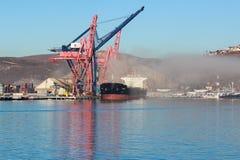 Puerto mexicano de Ensenada Fotografía de archivo libre de regalías