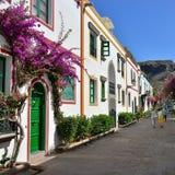 Puerto Mogan, Gran Canaria royalty-vrije stock fotografie