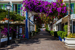 Puerto Mogan Gran Canaria Immagini Stock Libere da Diritti